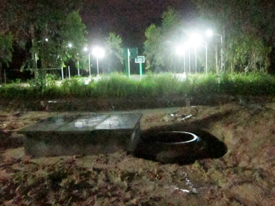 Street Lights And Biogas For The Children S Home