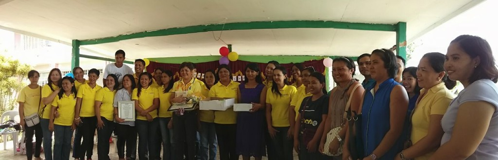 Staff of Masaya Elementary school with Goducate team