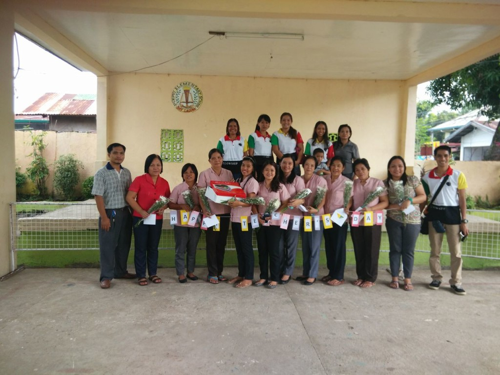 Staff of Pupuy Elementary School with Goducate team